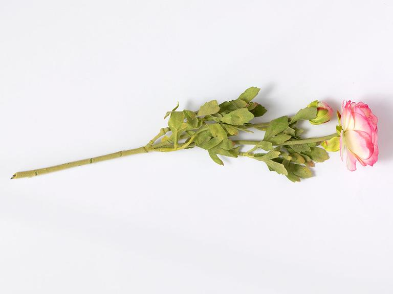 Rose Bud Yapay Çiçek 78 Cm Açık Pembe