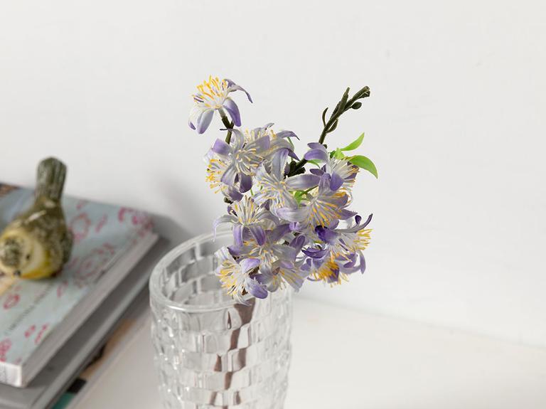 Lemon Blossom Yapay Çiçek 46 Cm Mor