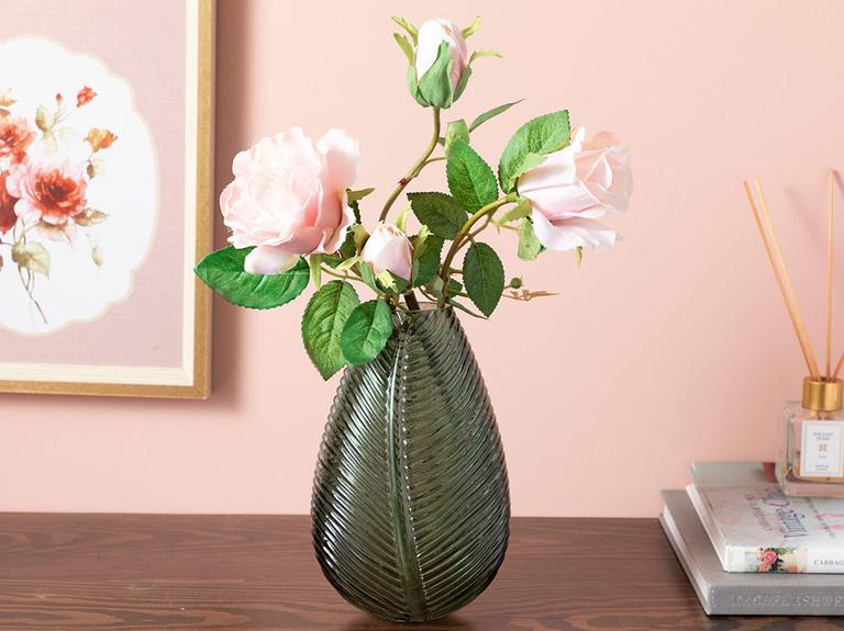 Rose Yapay Çiçek 74 Cm Pembe