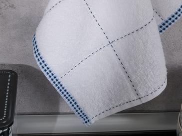Edaline Pamuk Kurulama Bezi 30x45 Cm Lacivert- Mavi