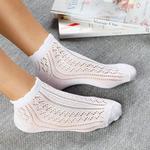 Fishnet Pamuk Kadın Çorap Standart Beyaz