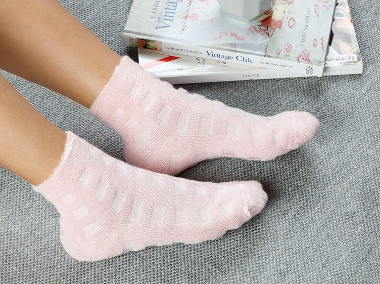 Towel  Modal Çorap Pembe