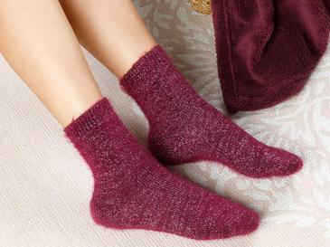 Elegance Çorap Bordo