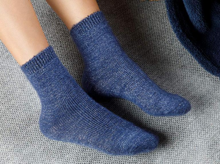 Elegance Çorap İndigo