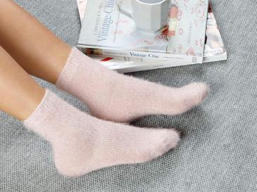 Elegance Polyamid Çorap Standart Açık Pembe