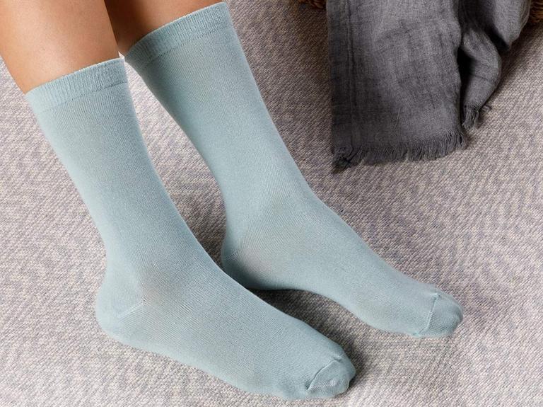 Lucky Pamuk Kadın Çorap Yeşil