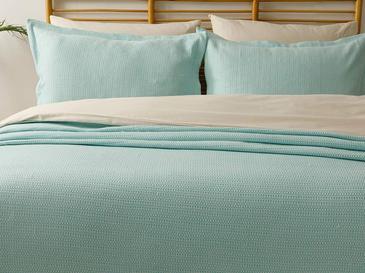 Lucy Pamuklu Çift Kişilik Yatak Örtüsü Takımı 230x240 Cm Mint