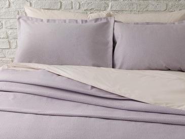 Blake Pamuklu Çift Kişilik Yatak Örtüsü Takımı 230x240 Cm Lila