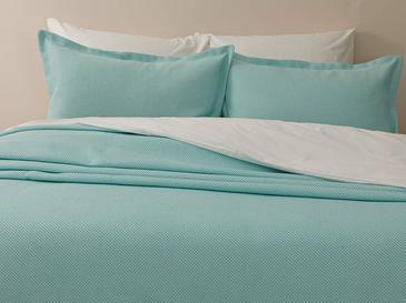 Pablo Pamuklu Çift Kişilik Yatak Örtüsü Takımı 230x240 Cm Mint