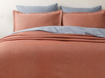 Pablo Pamuklu Çift Kişilik Yatak Örtüsü Takımı 230x240 Cm Kiremit