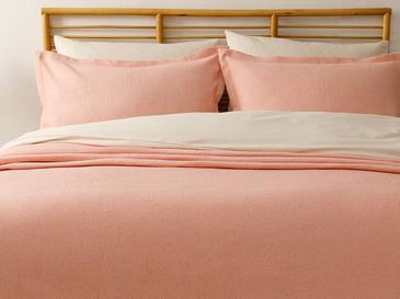 Fiona Pamuklu Çift Kişilik Yatak Örtüsü Takımı 230x240 Cm Yavruağzı