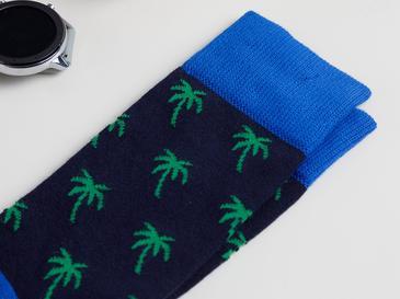 Palm Island Pamuk Erkek Çorap Lacivert