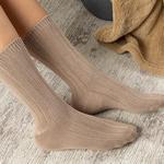 Caraline Bambu Kadın Çorap Bej