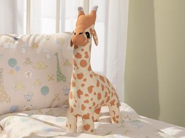 Mini Giraffe Dekoratif Yastık 40x20 Cm Bej
