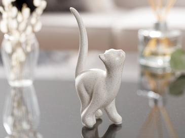 Scamp Cat Stoneware Biblo 8x5,5x15 Cm Krem