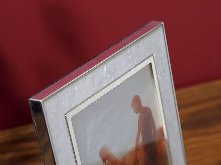 Bright Metal Çerçeve 16,5x21,0 Cm Beyaz