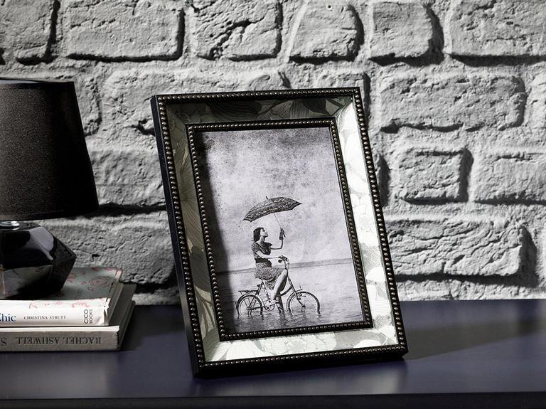 Monochrome Cam Çerçeve 15x21 Cm Siyah