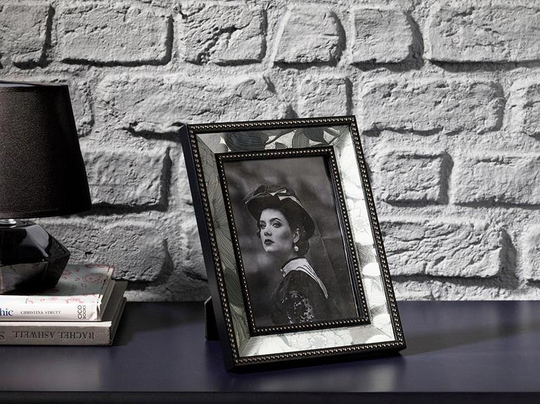 Monochrome Cam Çerçeve 13x18 Cm Siyah