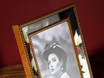Art Bloom Cam Çerçeve 15x21 Cm Siyah
