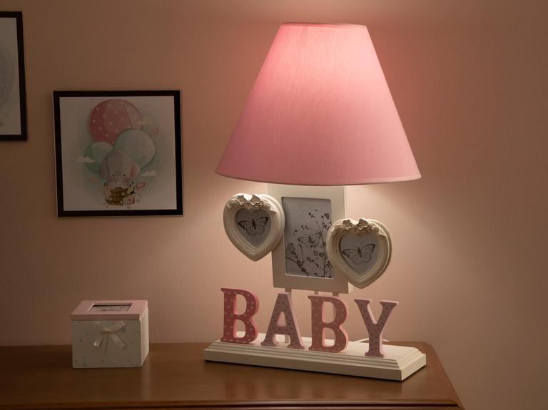 Baby Abajur 31x50 Cm Pembe