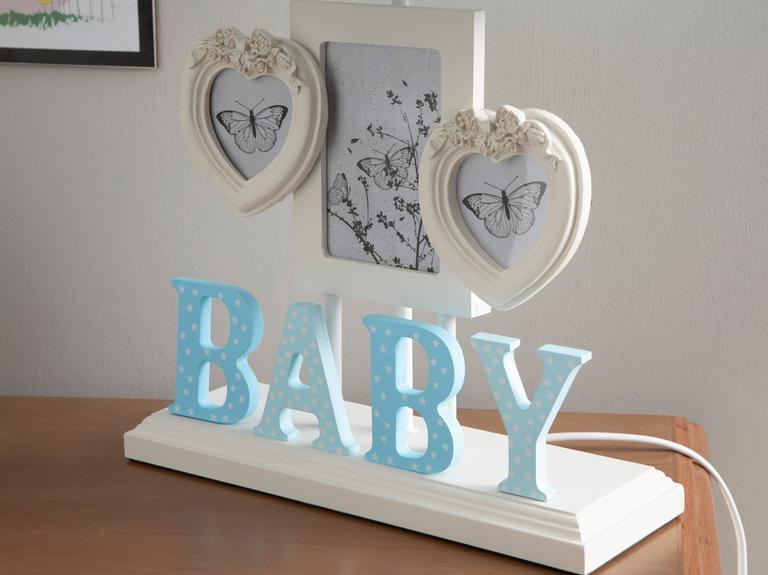 Baby Abajur 31x50 Cm Mavi