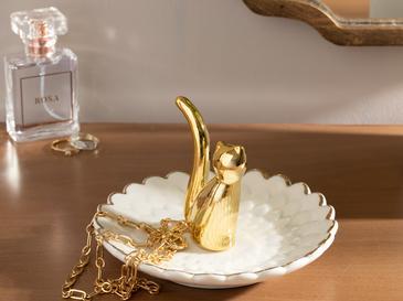 Cute Seramik Takılık 13,5*13,5*6 Cm Gold