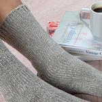 Velvet Kadife Kadın Çorap 39-41 Bej