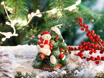 Santa Parafin Mum 7,5x6,5 Cm Kırmızı