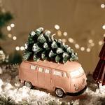 Winter Joy Parafin Mum 11x6x10 Cm Yeşil