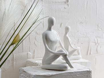 Lady Stoneware Biblo 7x8.5x16 Beyaz