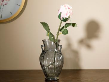 Dream Rose Tek Dal Yapay Çiçek 52 Cm Pembe