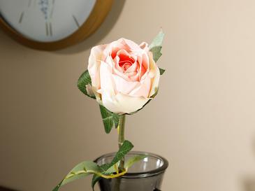 Dream Rose Tek Dal Yapay Çiçek 52 Cm Turuncu