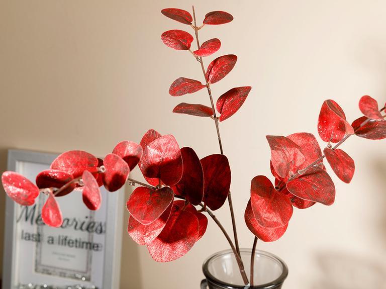 Garden Passion Tek Dal Yapay Çiçek 76 Cm Bordo