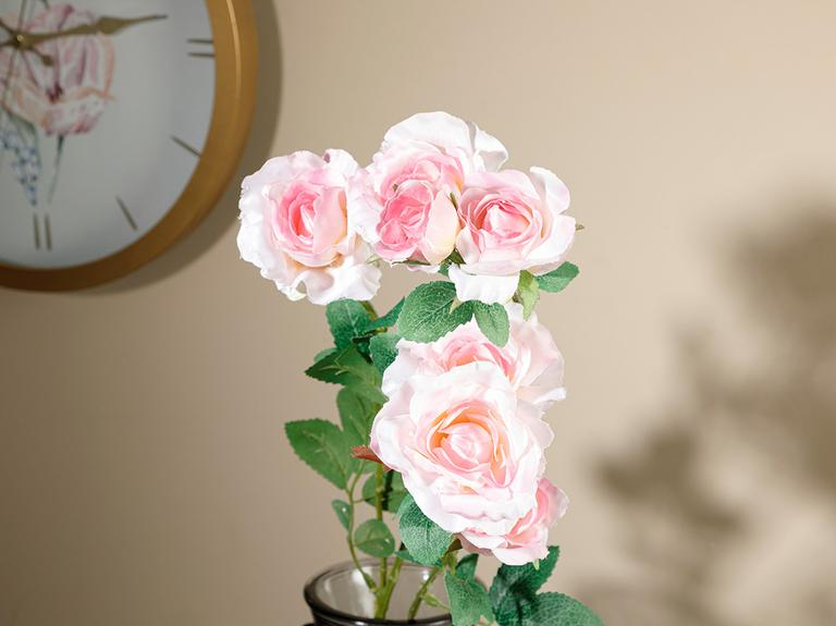 Rose Garden Tek Dal Yapay Çiçek 78 Cm Açık Pembe