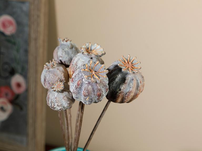 Fruits Köpük Tek Dal Yapay Çiçek 25 Cm Mor