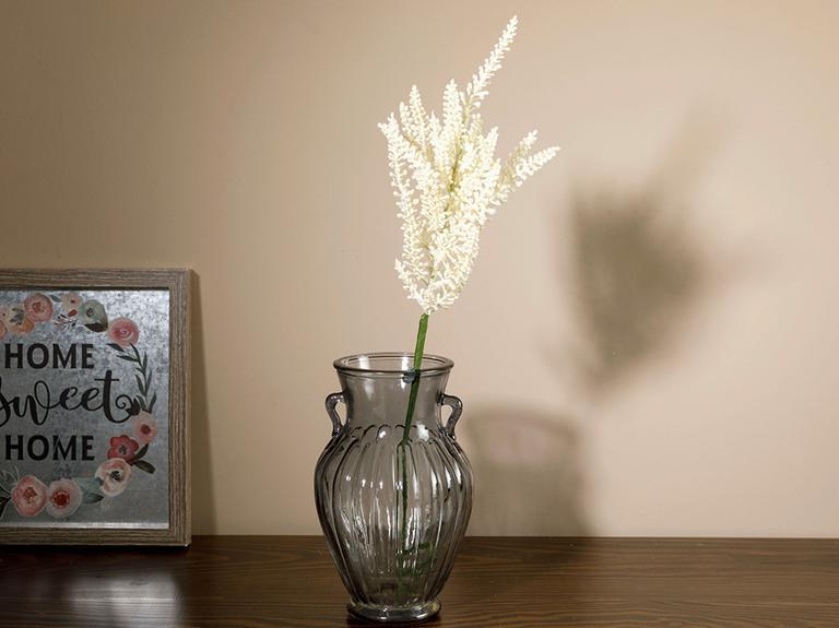 Pure Leaves Tek Dal Yapay Çiçek 65 Cm Beyaz