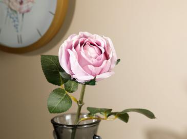 Dream Rose Tek Dal Yapay Çiçek 52 Cm Mor