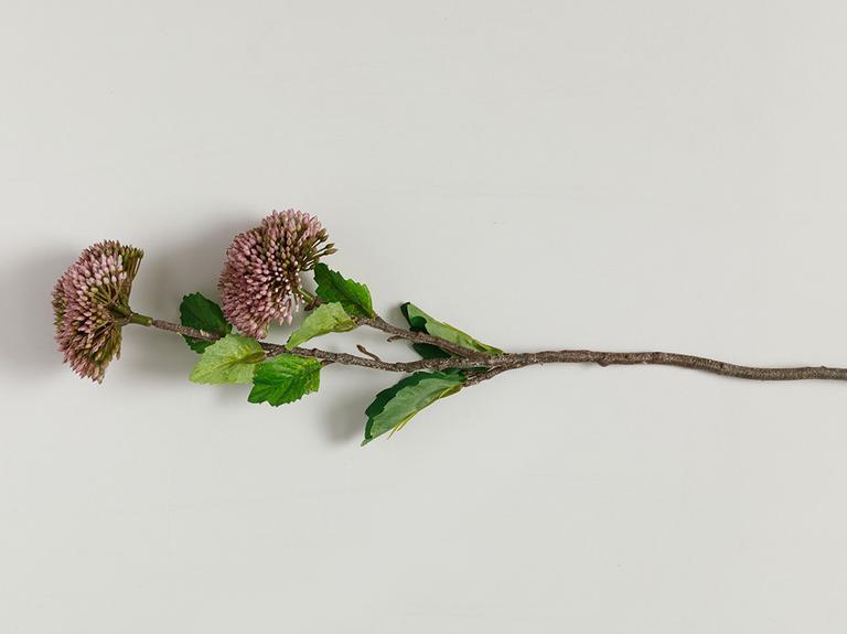Flower Garden Tek Dal Yapay Çiçek 44 Cm Mor