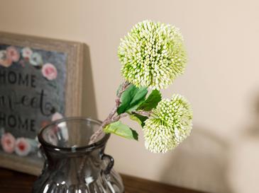 Flower Garden Tek Dal Yapay Çiçek 44 Cm Beyaz
