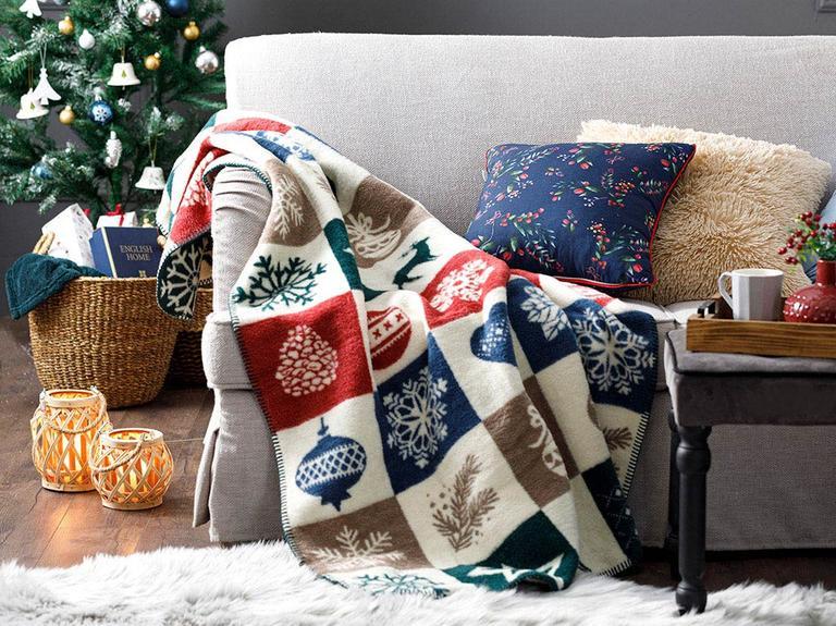 Ornaments Akrilik Tv Battaniye 130x170 Cm Yeşil