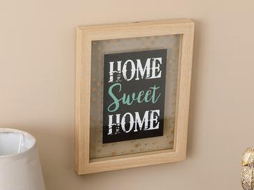 My Sweet Home Mdf Tablo 20x25 Cm Kahve