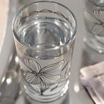 Denby Bright Cam 6'lı Kahve Yanı Su Bardağı 100 Ml Bej - Siyah