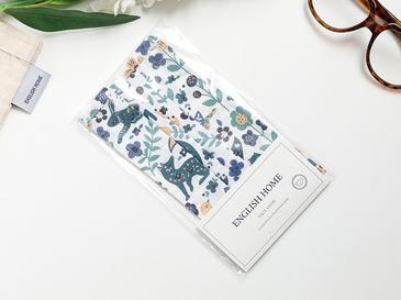 Spring Pamuk Maske 9,5x18 Cm Mavi