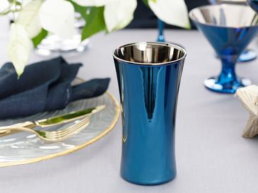 Jade Cam 2'li Meşrubat Bardağı 300 Ml Mavi - Lacivert