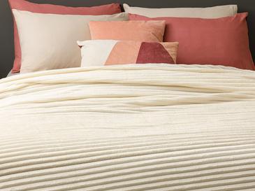 Plain Super Soft Tek Kişilik Battaniye 150x200 Cm Kırık Beyaz