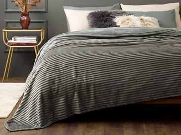 Plain Super Soft Çift Kişilik Battaniye 200x220 Cm Antrasit