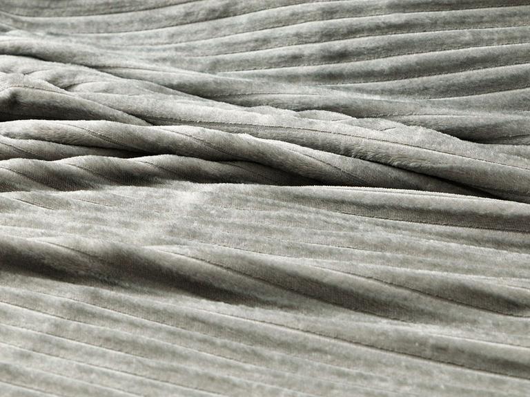Plain Super Soft Tek Kişilik Battaniye 150x200 Cm Antrasit