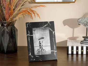 Marble Mdf Çerçeve 15x20 Cm Siyah