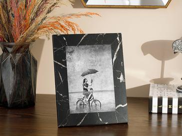 Marble Mdf Çerçeve 17x22,5x2 Cm Siyah
