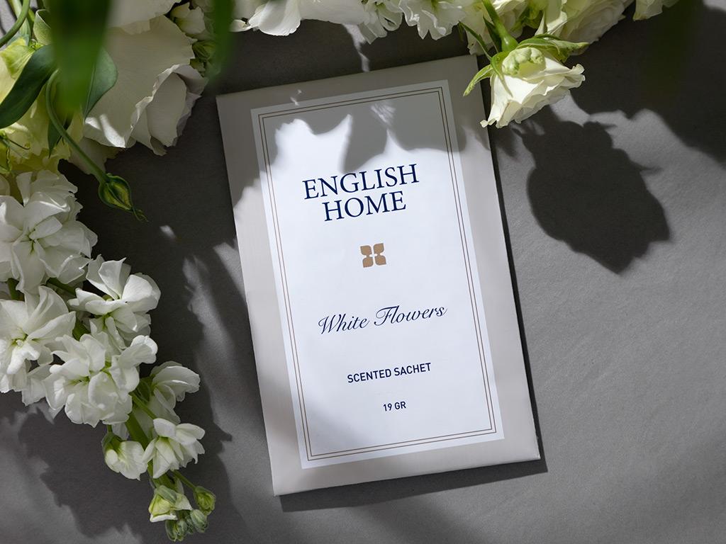 White Flowers Saculet Parfumat 19 gr Bej 10029167001